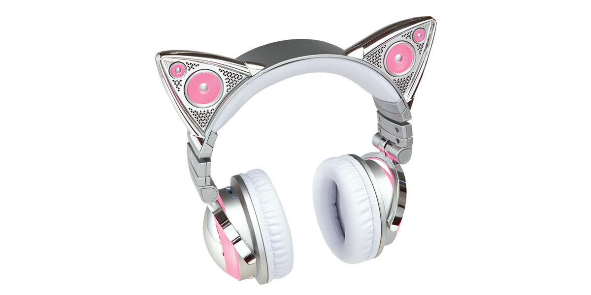 Image result for Benefits of Quality cat ear Headphones for Workout routines